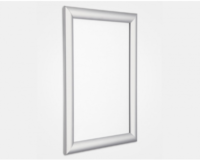 25mm Silver Snap Frame