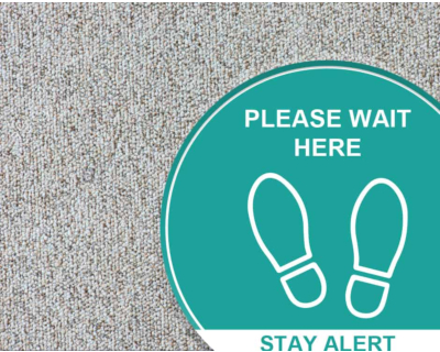 Printed Carpet Graphics - Carpet Stickers