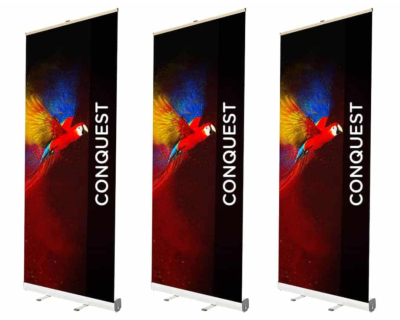 Grasshopper Roller Banners Stand