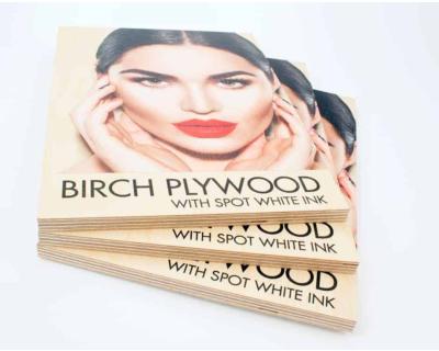 Printing On Wood - 12mm Birch Ply