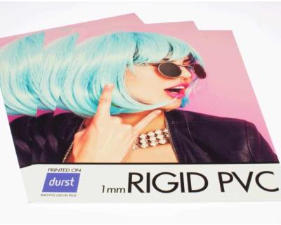Rigid PVC Printing