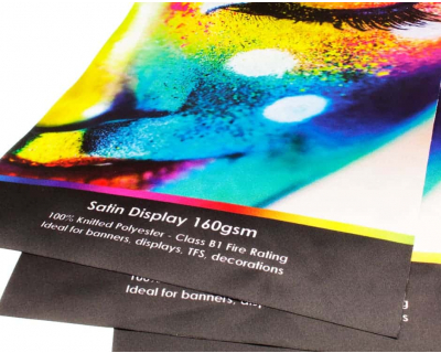 Satin Display Fabric Printing