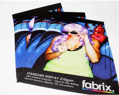 Standard 210g Display Fabric