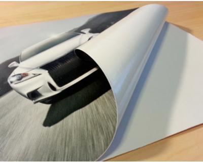 white self adhesive vinyl printing