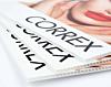 Correx printing Close Up