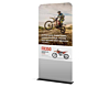 Monollith fabric banner stand