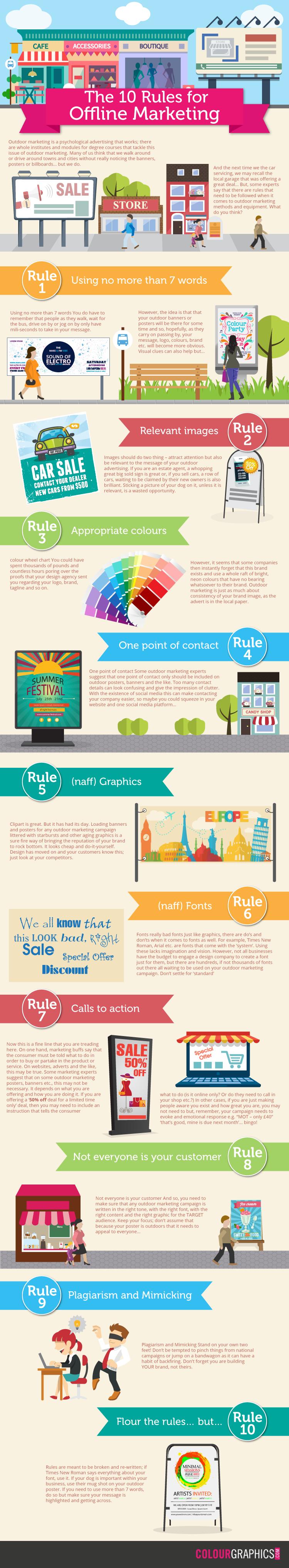 10 rules of offline marketing